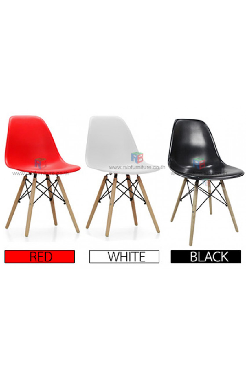 Vitra eames plastic side chair replica 1174 for Eames plastic chair replica